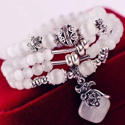 Armband 'Opaal'